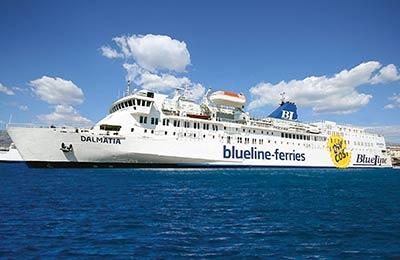 Ferries Blue Line