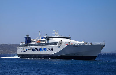 Speed Lines Aegean