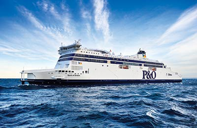 P&O Ferries Irish Sea